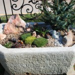 antique stone trough planter at charlies antiques in williamsburg va