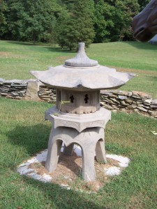 stone lantern for japanese garden at charlies antiques,